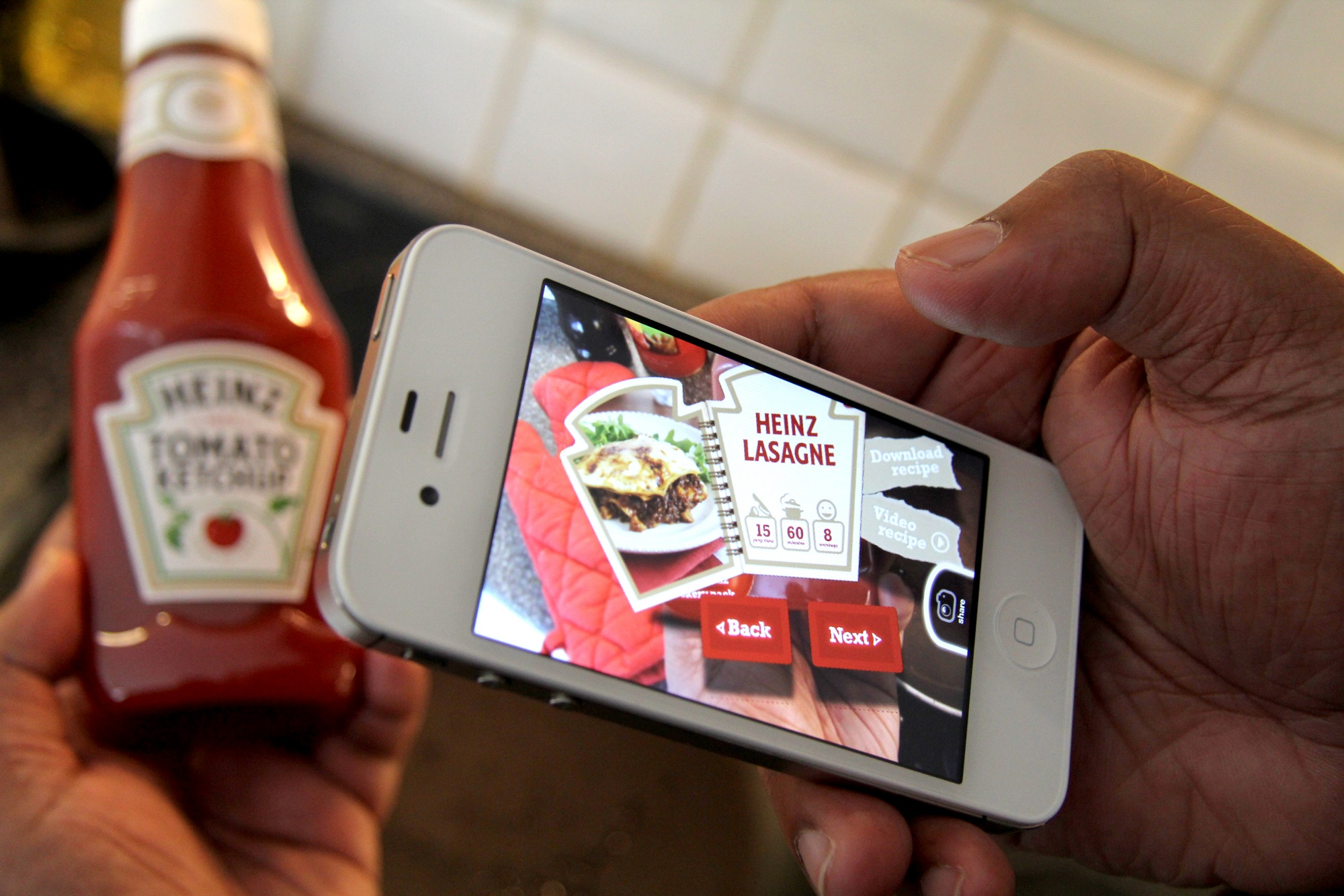 Blippar allows you to scan and read nutritional information. Perfect for counting calories!